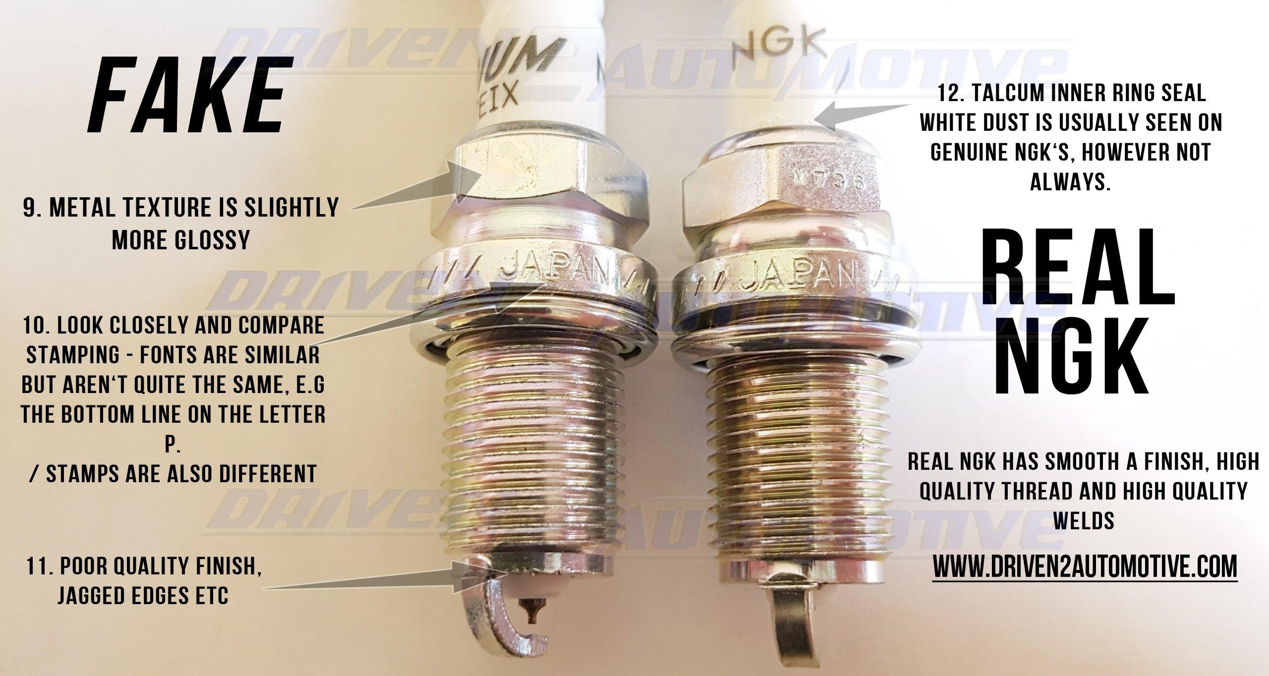 6 PCS NGK 6418 Iridium IX Spark Plugs BKR6EIX Made in JAPAN Parts & Accessories Ignition Systems SET OF 6 PLUGS