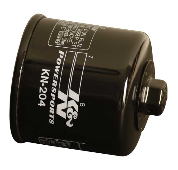 k n kn 204 powersports oil filter b6m6 14 302 15853 99170. Black Bedroom Furniture Sets. Home Design Ideas